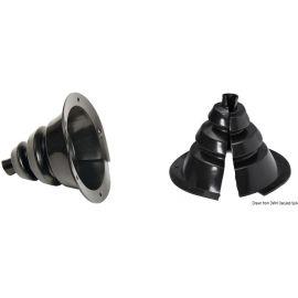 Soufflet passe-câbles ouvrable Ø 107 ou 135 mm