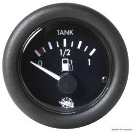 Jauge de carburant Guardian - cadran noir ou blanc - 12 ou 24 V