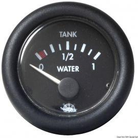 Jauge de niveau d'eau Guardian - cadran noir ou blanc - 12 ou 24 V