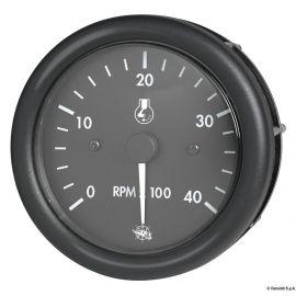 Compte-tours GUARDIAN diesel ou 2/4 tps - 12 ou 24V