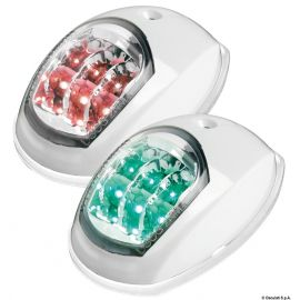 Feu de navigation LED Evoled rouge & vert 112,5° - ABS ou inox