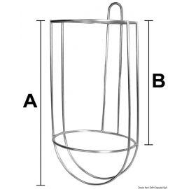 Porte pare-battage à panier diam 17 cm