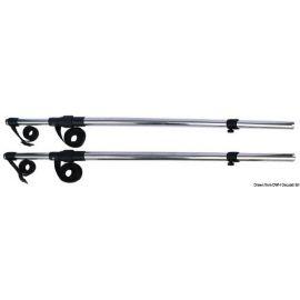 Taud avec bras télescopique pour T-Top/Flying bridge - L180 à 290 cm