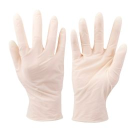 Gants jetables - latex - Blister de 10