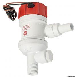 Pompe centrifuge immergée Rule pour viviers - 32 ou 100 l/min - 12V