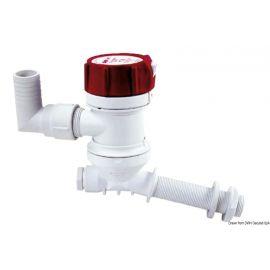 Pompe aératrice pour viviers - 3 types d'évacuation