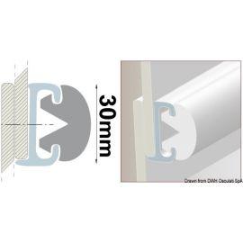 Jonc PVC pour défenses en duralene - en 20 m