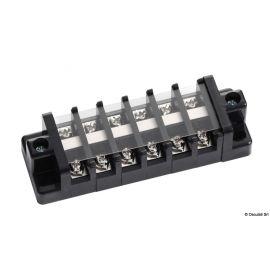 Bornier pour raccordements électriques - 6 à 10 terminaux