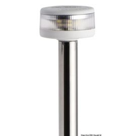 Hampe Evoled 360° rabattable - blanc/inox