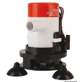 Pompe d'aération pour vivier avec ventouse et tube
