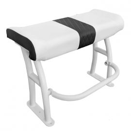 Leaning post Pro series alu blanc + assise blanche