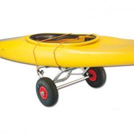 Chariot pour canoé ou planche à voile