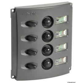 Tableau électrique fusibles automatique double LED