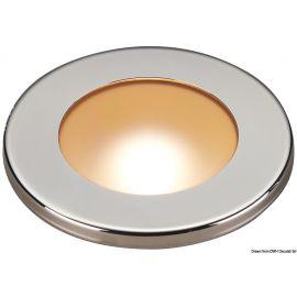 Spot LED encastrement réduit - inox polis