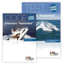 Code extension permis Hauturier