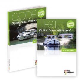Code et test examen permis eaux intérieures