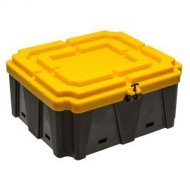 Bac à batterie grande capacité - 590 x 660 x 290 mm