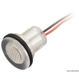 Feu de courtoisie polycarbonate à LED ø31,6 - 12V - 2 couleurs