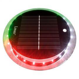 Feu de navigation à LED - solaire - télécommandable