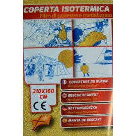 Couverture thermique isolante Plastimo 1,6x2,1 M