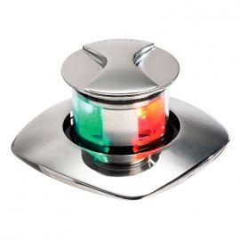 Feu de navigation LED Borea rouge+vert - escamotable