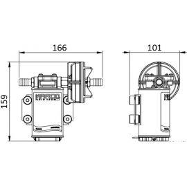 Elecropompe auto-amorçable 12 ou 24V