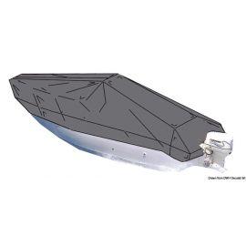 Bâche pour bateau avec console centrale - de 4,2 à 7,7 m
