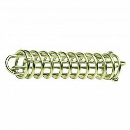 Ressort amortisseur d'amarrage - acier - 270 x 53 mm
