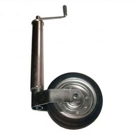 Roue jockey réglable - tube de ø60 mm