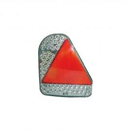 Feu arrière à LED + catadioptre - droit