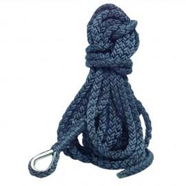 Cordage - bosse d'amarrage - ø16 mm x 12 m - bleu marine