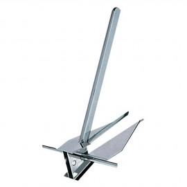 Ancre type Danforth - inox - 7 kg