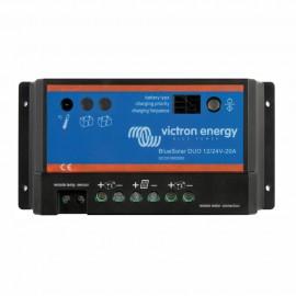 Régulateur de charge - modèle Blue Duo 20 - Pour panneaux solaires - 20 A