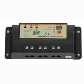 Régulateur de charge pour panneau solaire - capacité 20 A - 12 / 24 v