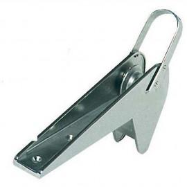 Davier blocage automatique - inox - pour ancre Trefoil de 30 kg