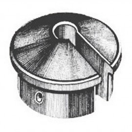 Protège hauban embout - ø40 mm