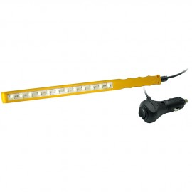 Baladeuse à LED - fiche allume-cigare - 12v/1.2w - 300x20x8 mm - câble 2.5 m