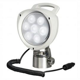 Projecteur portable avec 7 LED 12/24 V