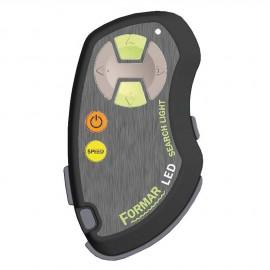 Radiocommande pour projecteur orientable