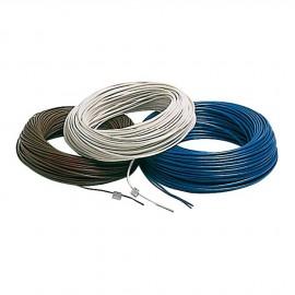 Câble électrique unipolaire - 1.5 mm² blanc - le mètre