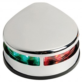 Feu de navigation LED Evoled - pour pont - inox - bicolore 225°