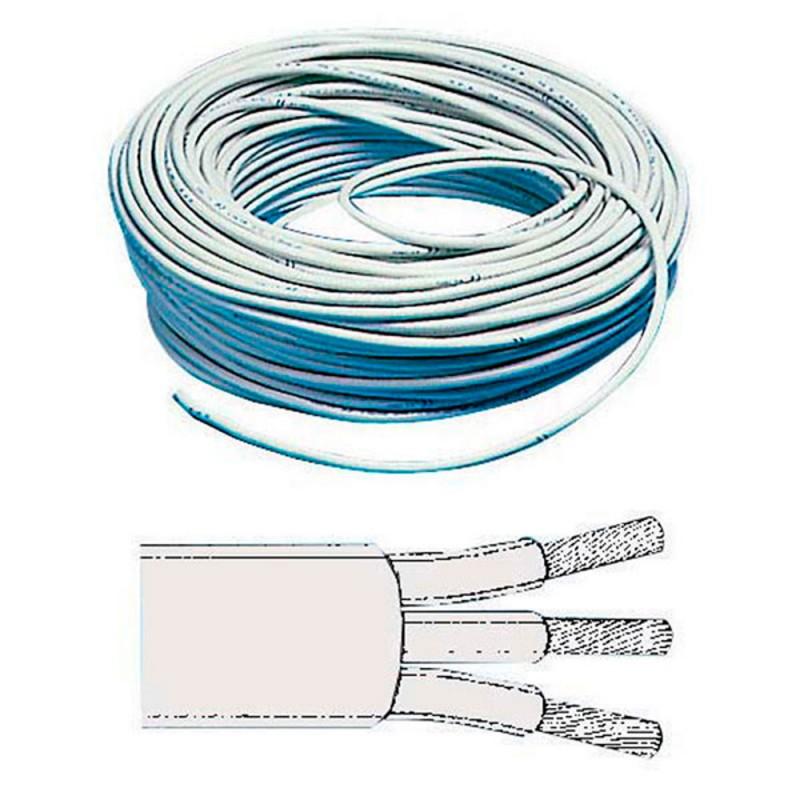 Câble électrique tripolaire 220V - 1.5 mm² - le mètre
