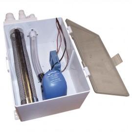Collecteur d'eaux usées WHALE avec pompe automatique