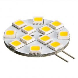 Ampoule LED SMD - Culot G4 -200 Lumen - 2.0 W équivalent 15 W - fix latérale