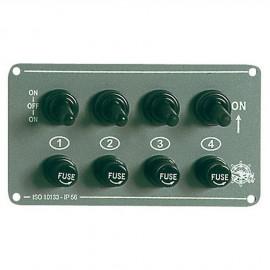 Tableau électrique Grey - 4 inters