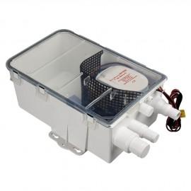 Collecteur avec pompe automatique 12 Volts