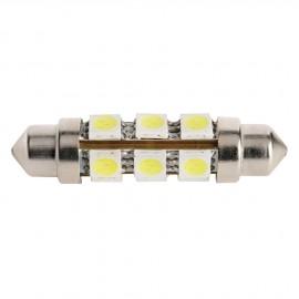 Ampoules LED fusée - 2 pièces - 2.38 W - Longueur 44 mm - 12 Led