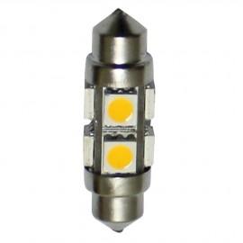 Ampoules LED fusée - 1 pièce - 1.7 W - Longueur 36 mm - 8 Led