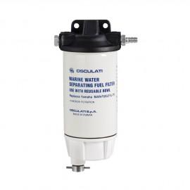Filtre essence avec décanteur aluminium - 206 l/h