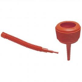 Entonnoir hydrocarbure avec tuyau flexible